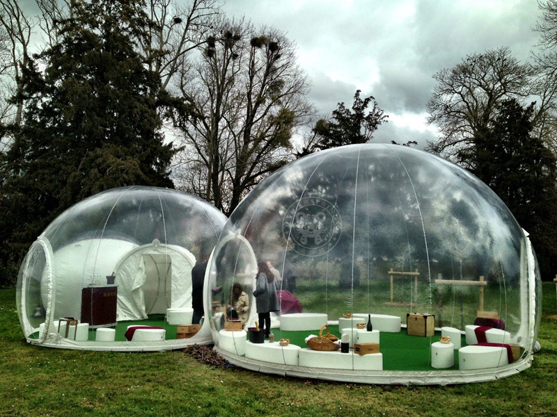 & Inflatable Transparent Bubble Tent | Innovation Essence