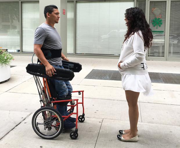 Shirley Ryan AbilityLab has developed wheelchair that allows user to stand and operate