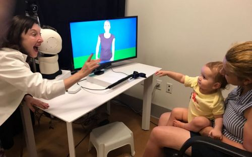 RAVE- Robot Avatar Thermal Enhanced – will break the communication barrier that widely impacts many young children with minimal or no language and social interaction in early life.
